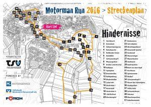 Strecke 2016